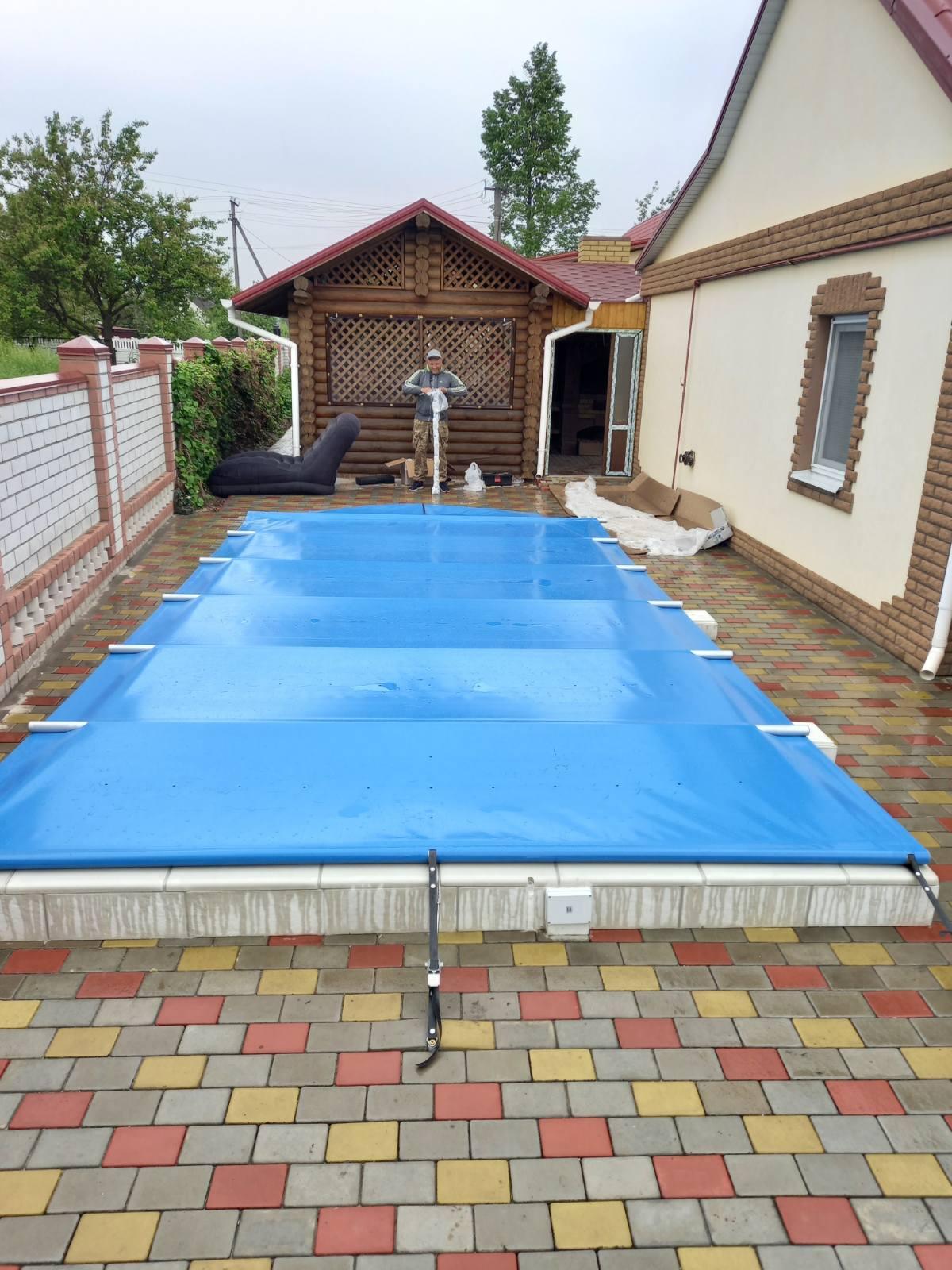 Тент на бассейн - что это, как выбрать